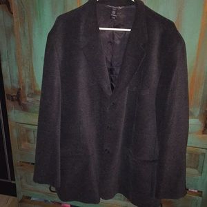 Cotton Viscose Blend Chenille like Sportcoat sz 48